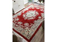 A thick, hard wearing, lovely under foot rug £45.00 OVNO