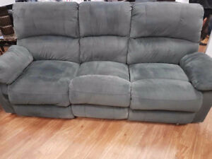ASHLEY RECLINING SOFA AND LOVE SEAT