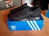 NEW Black Adidas Trainers in Size 10 (Bought for £65)