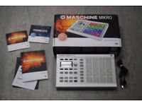 Native Instruments Maschine Mikro MK2 Groove Production Studio White Boxed £230
