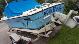 Boat for sale with trailer AS IS