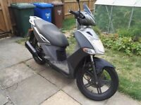 KYMCO AGILITY CITY 125 SCOOTER 11 MONTHS MOT