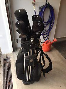 Sac de Golf Avec 12 battons (kit complet )