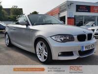 BMW 1 SERIES 120D M SPORT, Silver, Auto, Diesel, 2010