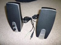 Trust PC or laptop stereo speakers - USB powered - unused & perfect condition