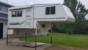 "2001 - 10'2"" Citation Supreme Truck Camper with Slide"