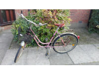 Old Pink Lady Bike for Sale