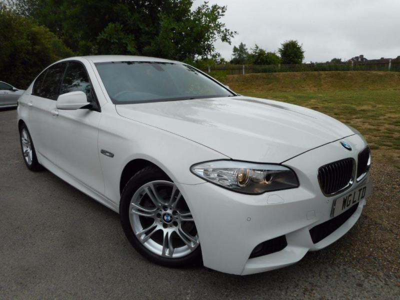 2013 BMW 5 Series 520d M Sport 4dr Step Auto Start Stop Media Package