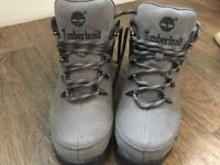 Timberland boots uk6 grey hiking boots