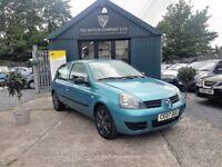 Renault Clio 1.2 CAMPUS (blue) 2007