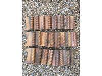 24 Victorian edging tiles