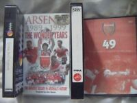 SMALL JOB LOT ARSENAL/FOOTBALL RELATED VIDEOS-SEE PICTURES-VERY CLOSE OFFERS CONSIDERED