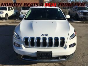 2016 Jeep Cherokee Limited **LOW KLMS**