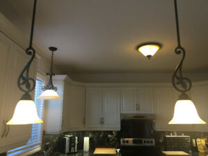 Kitchen / Dining Room Ceiling Light Set