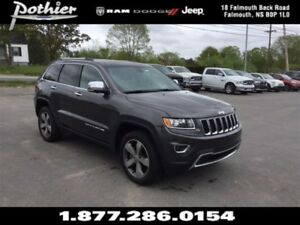 2015 Jeep Grand Cherokee Limited 4x4   LEATHER   SUNROOF   REAR