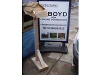 Rustic garden ornimental furnitures all manufactured here at A Boyd and son fencing