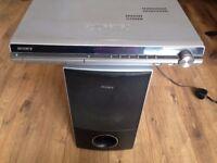 Sony Digital Amplifier and Speaker.