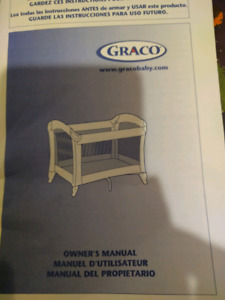 Graco Playpen with change pad