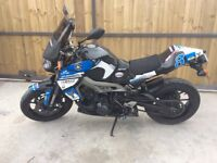 Yamaha MT09 This is a chance to get your hands on a very fast and good Handling bike