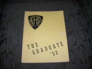 1953 Fredericton High School Yearbook