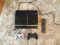 Sony PlayStation 3, 2 controllers, Blueray remote + 12 games