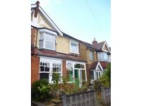 A recently refurbished three bedroom two reception Edwardian house near to New Malden BR