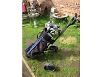 Alpha Golf Master Full Golf Club Set And Trolley