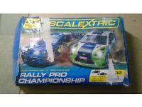 SCALEXTRIC RALLY PRO CHAMPIONSHIP SUBARU WRC V FOCUS WRC