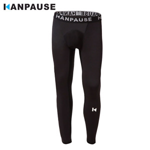 New Arrival  KANPAUSE Men's Tights Pants Running Training Pants