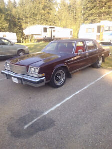 1978 BUICK PARK AVENUE with lowered Price Tag