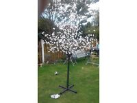 Light up cherry blossom tree 7ft tall in or outdoor