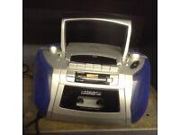 CD player tape and radio