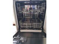 Freestanding white dishwasher Beko DSFN6830