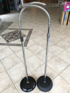 PRO - TYPE MICROPHONE STANDS WITH GOOSENECK