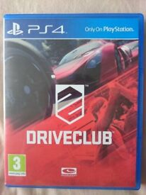 Driveclub for Sony PlayStation 4 PS4 Video Game