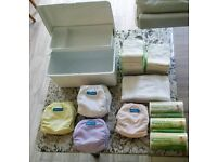 15 x Smartipants re-usable nappies with inserts, liners and box