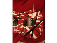 EVH Electric Guitar Red Stripe