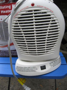 oscillating electric fan heater or best offer