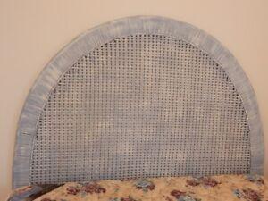 Blue Double Size Head Board