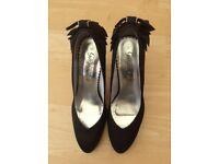 Ladies black high heels