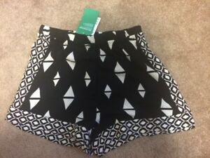 NWT- H&M Shorts Size 4