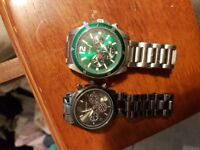 Lacoste and kors watch