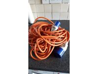 Electric Hook-Up lead for camping, tent & caravan.