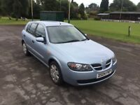 Nissan Almera with full service history and full mot