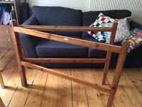Wooden towel rail for free!