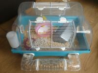 Hamster Cage and Accesories as seen in Photos