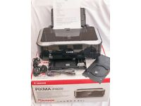 Canon Pixma iP4600 with cables and instruction booklet - some ink left in cartridges
