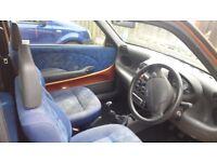 Fiat Seicento sx 899cc Orange 2000 model