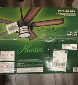 CEILING FAN WITH LIGHT BRAND NEW IN THE BOX