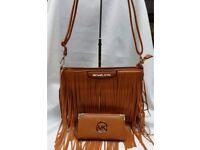 MK Tassle Shoulder Bag and Purse Sets